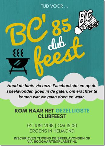 Clubfeest